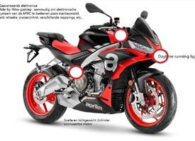 Naked versie van de RS 660
