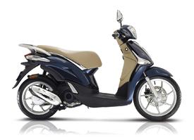 Piaggio Liberty 50 of 125cc  € 2.649,00 of € 2.949,00 verkrijgbaar in bianco, beige met, blue met of nero met